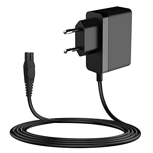 MEROM Cargador Afeitadora Fuente de Alimentación 8V 2W para philips Norelco Oneblade QP2530 / QP2630 Adaptador Reemplazar HQ850 Cable Alimentación 1,5 Metros