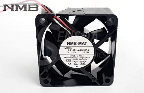 For NMB 2410RL-04W-B39 6cm 6025 60mm 12V DC inverte Popular Cheap bargain overseas 0.13A server