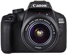 Canon EOS 4000D Camara Con Objetivo EF-S 18-55mm III, 18 MP