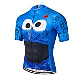 Mens Cycling Jersey Shirt,2019 Short Sleeve Bike Jersey Riding Tops...