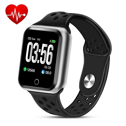 ZGPAX Fitness Wrist Watch Activity Tracker with Step Counter Calorie Counter, Pedometer Smart Bracket Waterproof Watch with Heart Rate Blood Pressure Monitor and Sleep Monitor for Kids Men Women