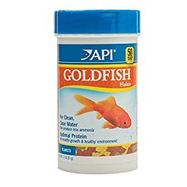 API Goldfish Pellets Fish Food Container
