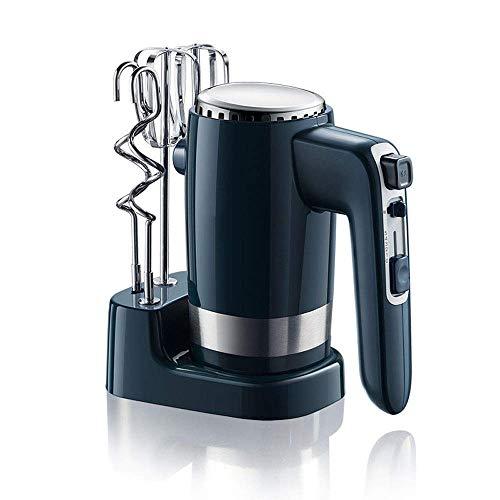 300W Hand Mixer RVS Elektrische Mixer Staafmixer 10-Speed Turbo Function Button Electric Hand Mixer Keukenmachine Mixer Inclusief Kloppers, deeghaken Manual mixer