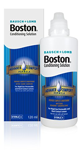 Boston Bausch & Lomb Advance Comfort Formula Conditioning Solution For Contact Lenses 120ml