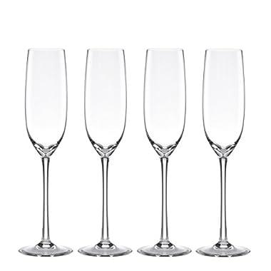 Lenox Unisex Tuscany Classics Fluted Champaign Set of 4 N/A Glassware