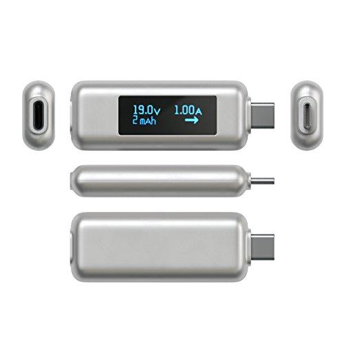 『Satechi USB-C パワーメーターテスター 電圧・電流チェッカー (MacBook Pro/MacBookAir 2018以降, MacBook 2015以降/iPad Pro, iMac 2017以降, Microsoft Surface Go など対応)』の6枚目の画像