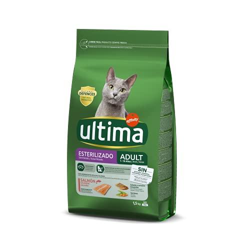 Ultima Cibo per Gatti Sterilizzati Adulti con Salmone, 1.5kg