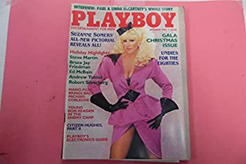 Playboy Men s Magazine Suzanne Somers December 1984 Gala Christmas Issue