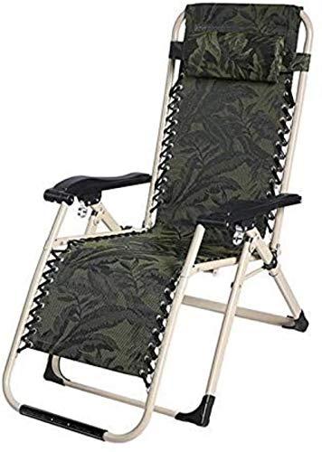 Chaise Balancelle Recliner Pliantes Patio Jardin extérieur Portable réglable Accueil Longue