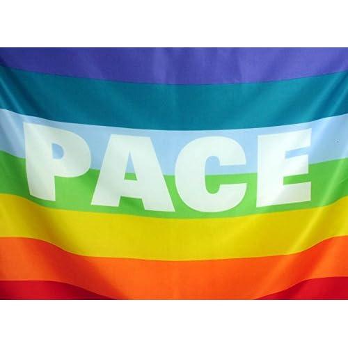 Bandiera Pace cm 90 x 150 cm in tessuto