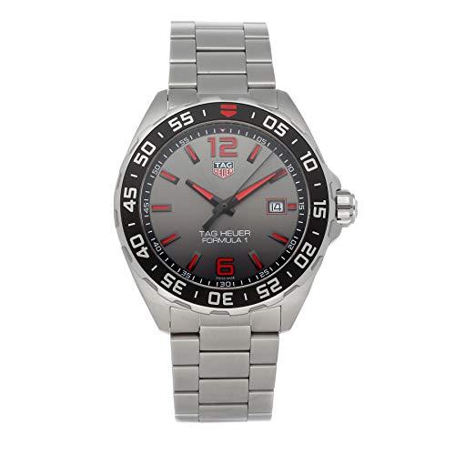 Tag Heuer Formula 1 Reloj de cuarzo (Battery) esfera gris WAZ1018.BA0842