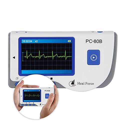 SHUTAO Heal Force PC-80B Easy ECG Monitor Que Mide el corazón del Detector cardíaco