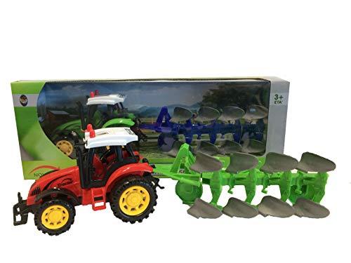 RCG Tractor con Remolque de Juguete Tractor agrícola con Ta