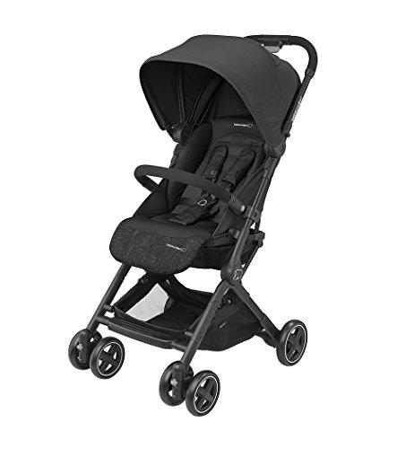 Bébé Confort Lara Kinderwagen, kompakt und leicht, in 3 Sekunden zusammenklappbar Nomad Black