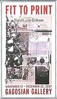 ポスター アーティスト不明 ハーレー Fit to Print2007 collage 額装品 アルミ製ベーシックフレーム(シルバー)