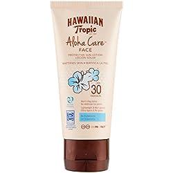 HAWAIIAN Tropic Aloha Care, crema solar no comedogénica