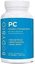 BodyBio - PC Phosphatidylcholine + Phospholipids - Liposomal for High Absorption - Optimal Brain & Cell Health - Boost Mem...
