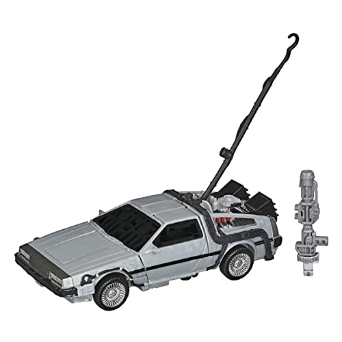 Transformers Toys Generations Collaborative: Back to The Future Mash-Up, Gigawatt -- Back to The Future-35 Edition - Ages 8 and Up, 5.5-inch