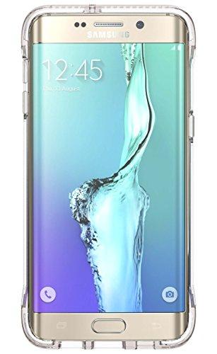 Tech21 Evo Frame for Samsung Galaxy S6 edge+ - Clear/White