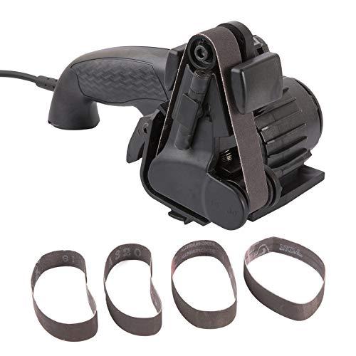 Montloxs Afilador de cortador eléctrico Afilador de corte rápido profesional Afilador de cortador eléctrico de cocina para el hogar Rectificado automático multifuncional Afilador de corte ajustable