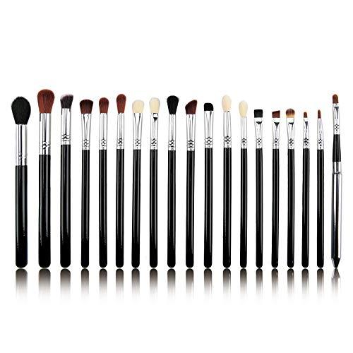 GBY Lot de 19 pinceaux de maquillage professionnel pour les yeux