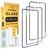 [3-PACK]-Mr.Shield For Huawei (Mate 20 Lite) [Tempered Glass] [Full Screen Glue Cover] Screen Protector with Lifetime Replacement