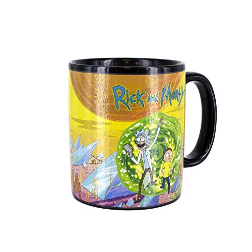 Rick & Morty PP4844RM Taza, multicolor