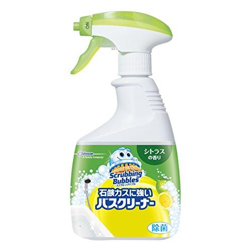 スクラビングバブル 石鹸カスに強いバスクリーナー シトラスの香り 本体 400mL