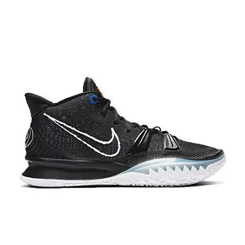 Nike Herren Schuhe Kyrie 7 Black/White CQ9326-002, Schwarz (Bk/Offnoir/Chilerd/Wt), 42.5 EU