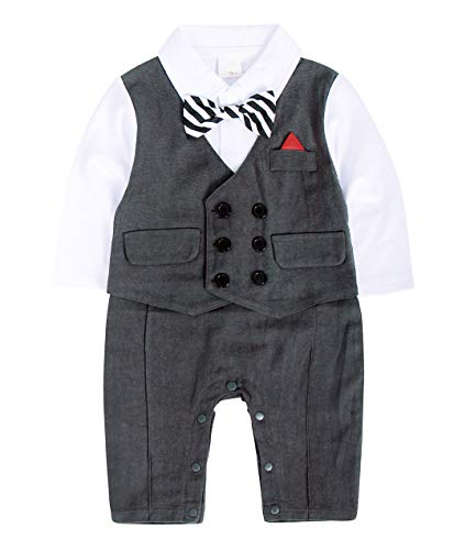 baby boy gentleman outfit 3 6 months
