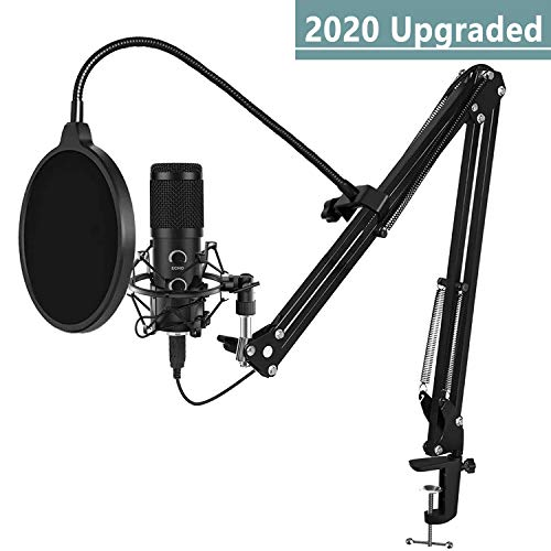 2020 Upgraded USB Microphone for Computer, Mic for Gaming, Podcast, Live Streaming, YouTube on PC,...