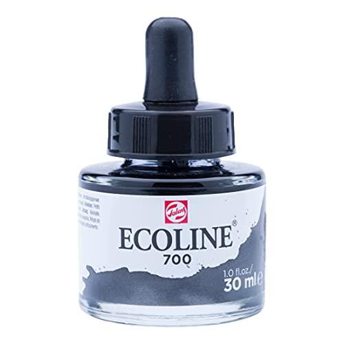 Ecoline Liquid Watercolour Bottle 30 ml Black 700 (11257001)