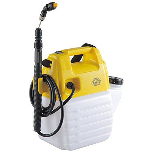 セフティー3 電池式噴霧器 5L 除草剤ノズル付 ホース1.7m ノズル40~90cm 1頭口 SSD-5J