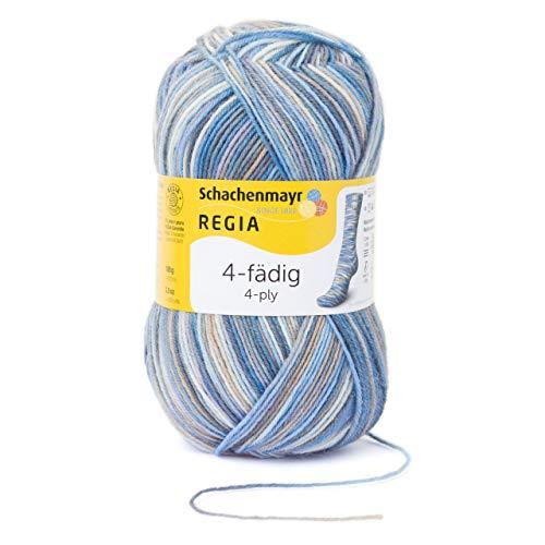 Regia Handstrickgarne Schachenmayr 4-fädig Color, 100g Sylt