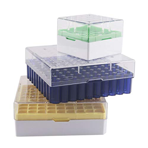 Cryptobox PC Cryo-tube Box Kunststoff Gefrierschrank Box Ultra-Low Temperature Storage PC / 25 Gitter