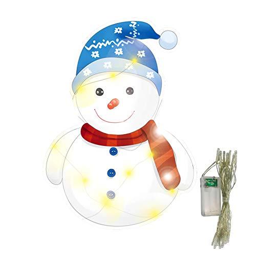 Janly Clearance Sale Decoración y colgados, Familia de Navidad Decoración En El Patio De Navidad Con Clavijas Y Cadena De Luces, Para Navidad Hogar Y Jardín Decorar, (Multicolor)