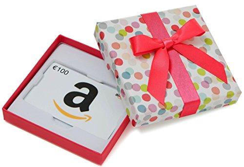 Carte cadeau Amazon.fr - €100 - Dans un coffret à Pois