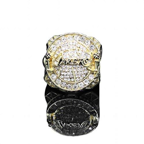 Ibuprofen Sport Fans Collection Champion Ringe Fans Männer Memorial Ringe High-End-Kollektionen Fans Legierung Ringe Herren Accessoires Vintage-Zubehör, Gold, 11
