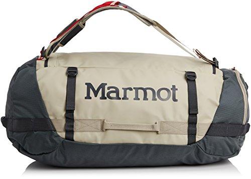 Marmot Long Hauler Duffel Bag - 2300-6700cu in Sandstorm/Slate Grey, L