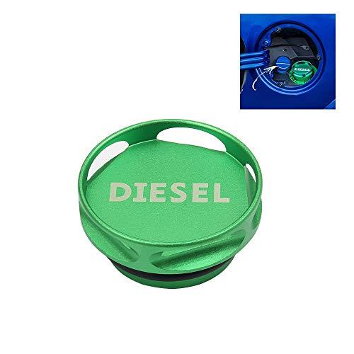Yh-eu Magnetische Diesel Fuel Cap Accessoire voor 2013-2018 Dodge Ram TRUCK 1500 2500 3500 met 6.7 Cummins EcoDiesel & 2 O-Ringen, Nieuw Gemakkelijk Grip Ontwerp