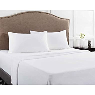 Mainstays Jersey Knit Sheet Set Arctic White, Queen