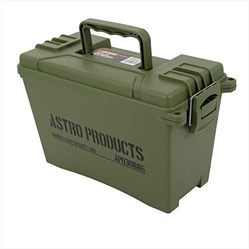 AP プラスチックボックス OD BX886 | ボックス アモボックス アンモボックス 弾薬箱 弾薬ケース ミリタリー 軍用 収納 小物入れ 箱 ケース インテリア 小型 バレットケース アモカン フタ 蓋 蓋付き 工具箱 ツールボックス