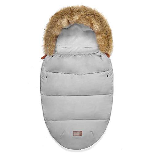 HYZXK Sleeping Bébé d'hiver Imperméable Universelle Pram Footmuff Siège D'auto pour Bébé Sacs (0 À 12 Mois),M