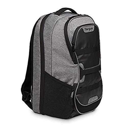 Targus Work + Play Fitness Backpack with Protective Sleeve Designed for Gym and Sports use fits up to 15.6-Inch Laptop, Grey (TSB94404EU)