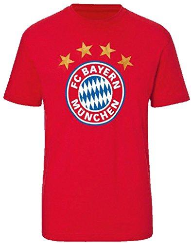 FC Bayern T-Shirt Rot Größe 128