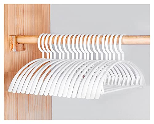 Adecuado para el hogar Perchas y pantalones prácticos Racks 10pcs / Anti patinaje Panchas de hogares sin traceless para ropa Apilado Suspensión Ahorra espacio Secado Multifunción Multifunción Almacena
