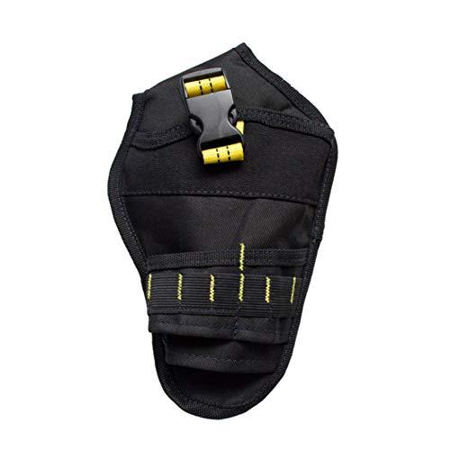 Paquete de cintura de herramienta de lona, kit de taladro eléctrico Bolsa...
