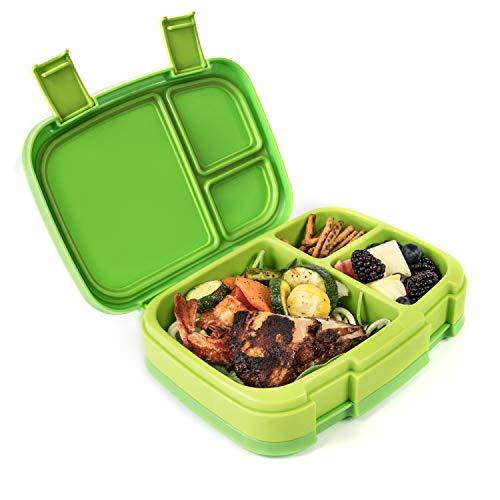 Boîte à déjeuner Bentgo Freshanti-fuite style bento à 4 compartiments-Idéale pour les repas équilibrés en déplacement-Sans BPA - Fabriquée de matériaux de qualité alimentaire