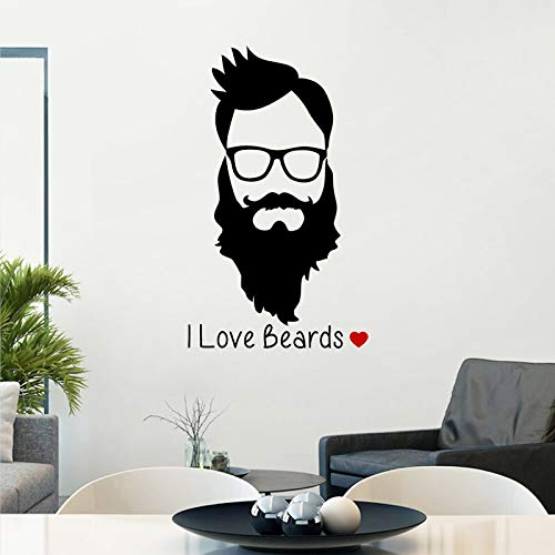 Lamubh Barber Shop Aufkleber Customized Chop Brot Aufkleber Poster Vinyl Wandkunst Dekor Windows Dekoration Haarschnitt...