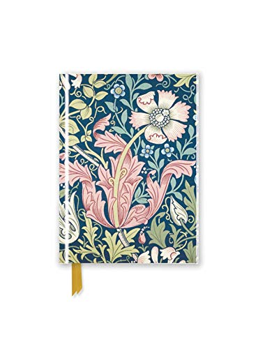 William Morris: Compton (Foiled Pocket Journal) (Flame Tree Pocket Books) (Premium Notizbuch DIN A 6 mit Magnetverschluss)